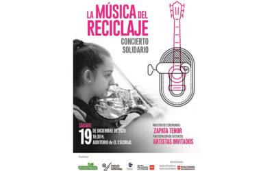 Marina García | Y Zapata en La Música del Reciclaje