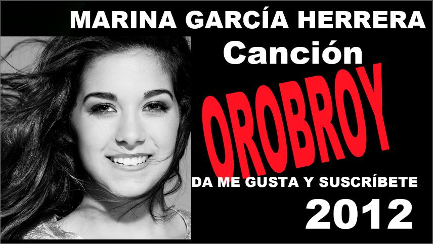 Marina García sus primeros videos